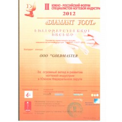 DIAMANT FOOT 2012