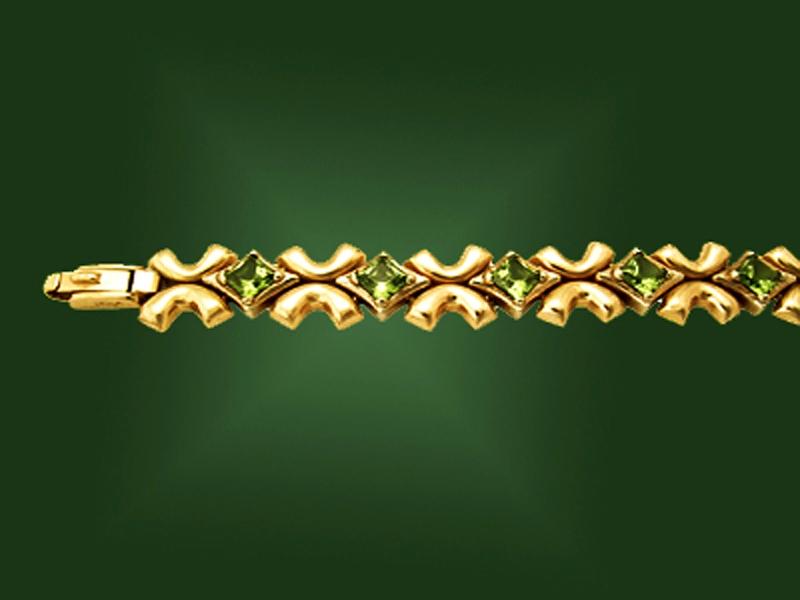 Золотой браслет БР-006