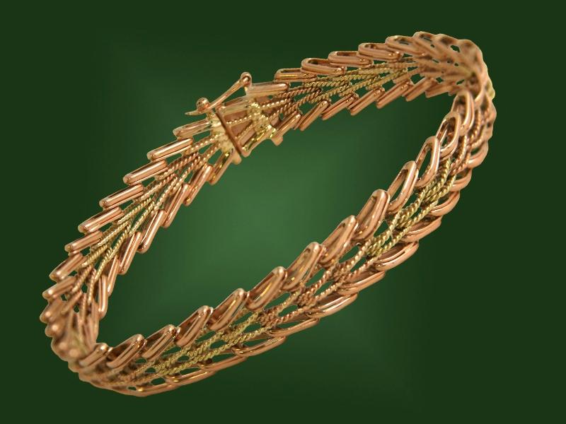 Золотой браслет БР-013-1