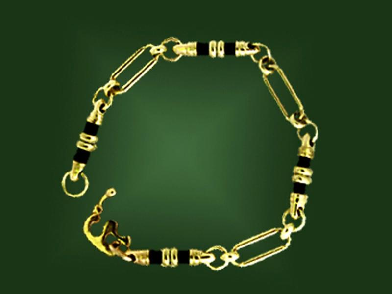 Золотой браслет БР-014-1