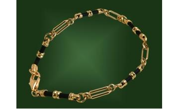 Золотой браслет БР-015