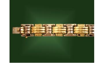 Золотой браслет БР-016