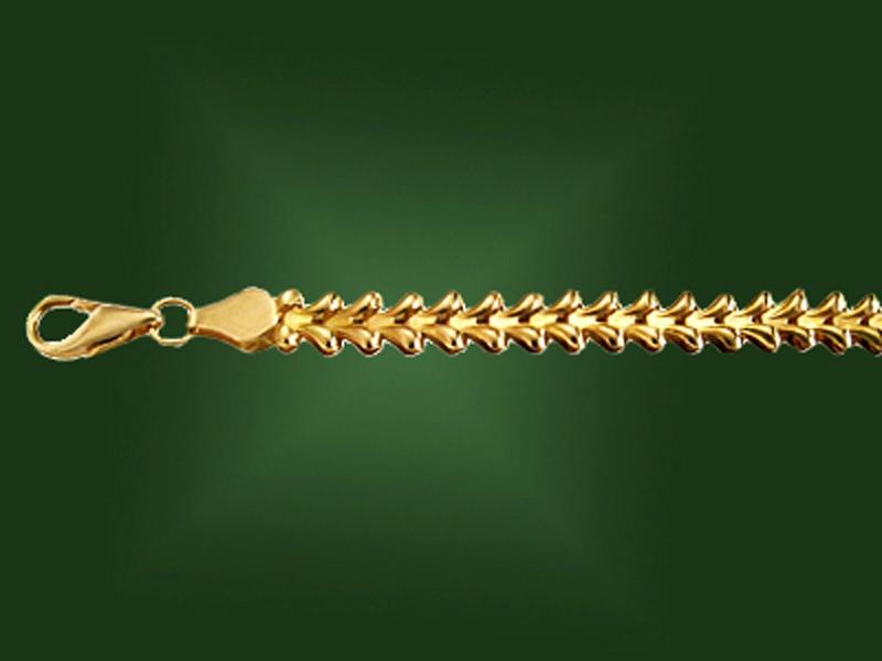 Золотой браслет БР-019