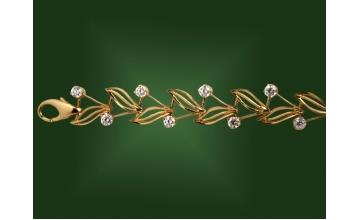 Золотой браслет БР-045