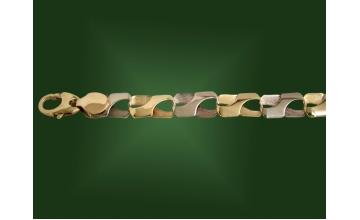 Золотой браслет БР-026