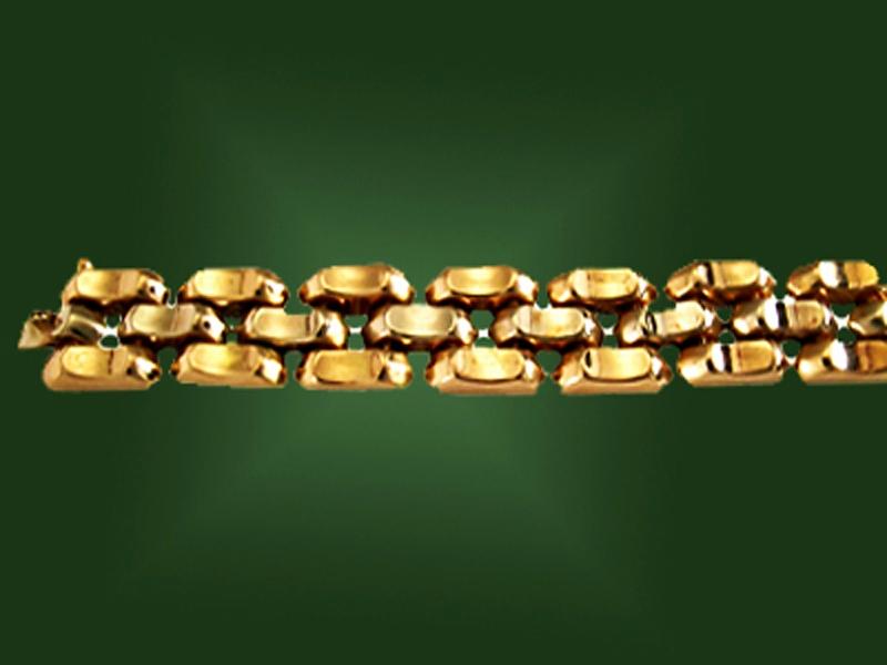 Золотой браслет БР-029