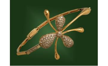 Золотой браслет БР-030