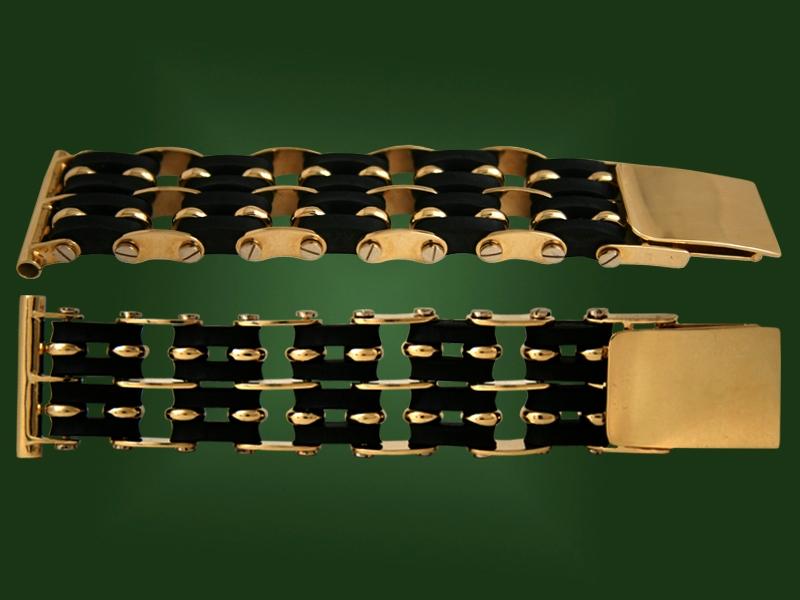 Золотой браслет БР-038