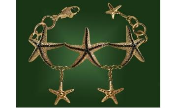Золотой браслет БР-023