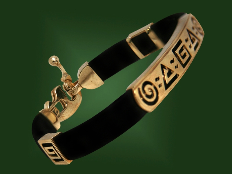 Золотой браслет БР-052