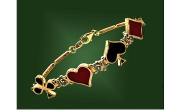 Золотой браслет БР-056