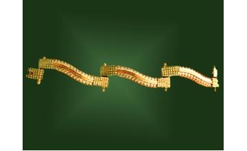 Золотой браслет БР-057