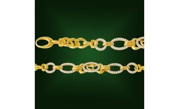 Золотой браслет БР-100