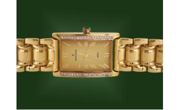 Золотые часы с браслетом Ч-001