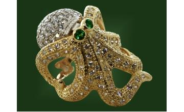 Золотое кольцо К-002