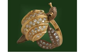 Золотое кольцо К-041