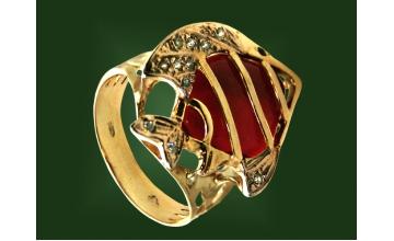 Золотое кольцо К-059