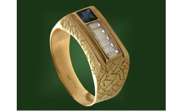 Золотая печатка К-074