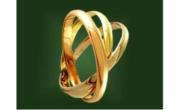 Золотое кольцо К-076