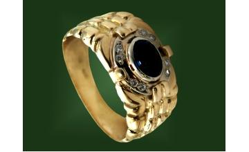 Золотая печатка К-083