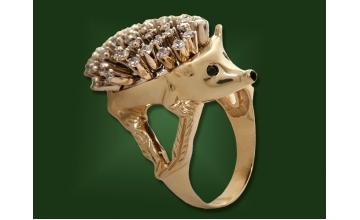 Золотое кольцо К-142