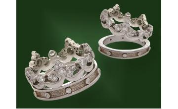 Золотое кольцо К-148