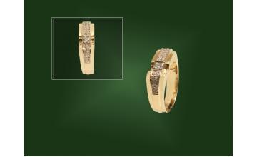 Золотая печатка К-165-1