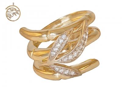 Золотое кольцо К-185