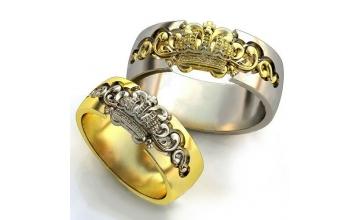 Золотое кольцо К-308