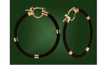Золотые серьги С-022