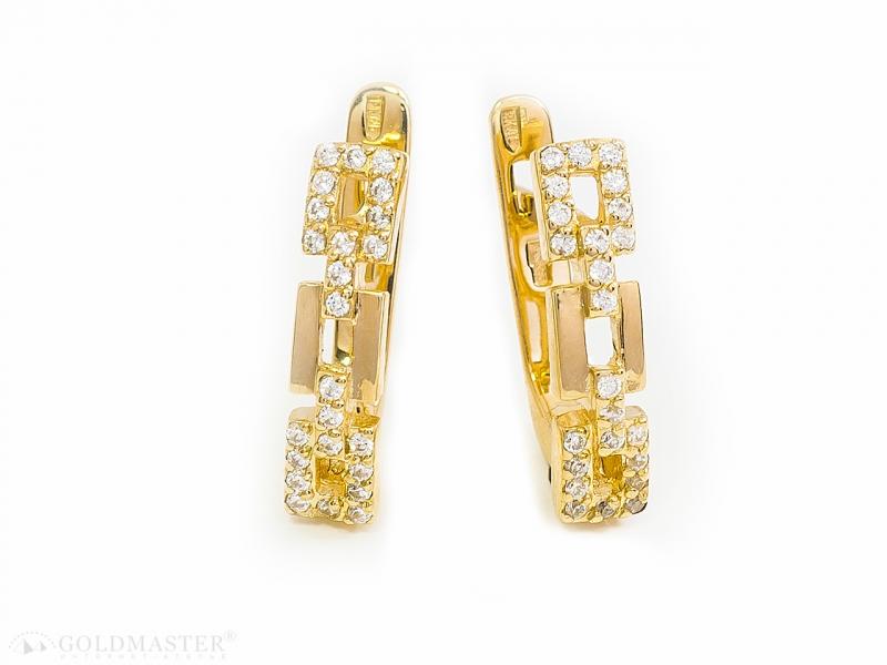 Золотые серьги С-288