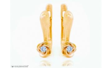Золотые серьги С-332