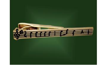 Золотой зажим З-012