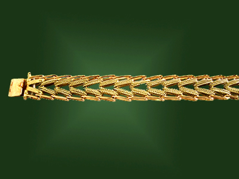 Золотой браслет БР-013