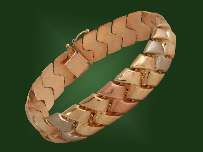 Золотой браслет БР-018