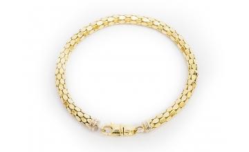 Золотой браслет БР-021-1