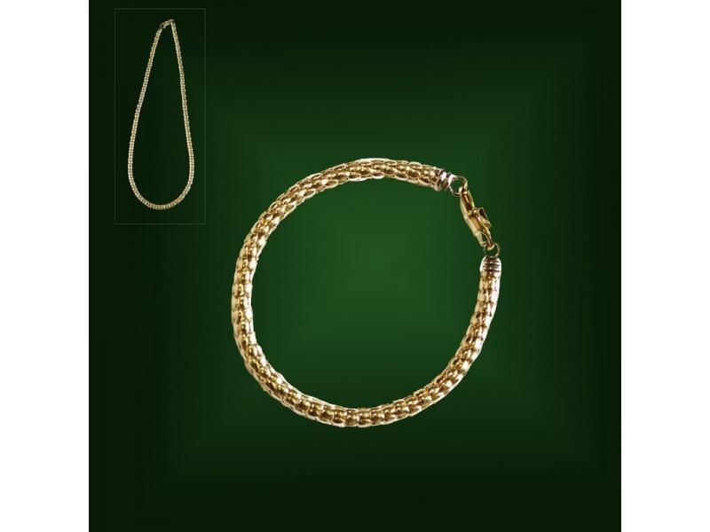 Золотой браслет БР-021