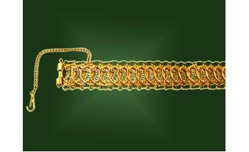 Золотой браслет БР-027