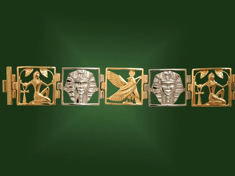 Золотой браслет БР-032-1