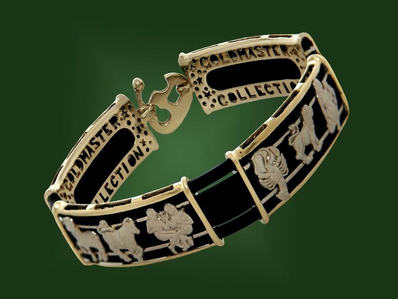 Золотой браслет БР-033