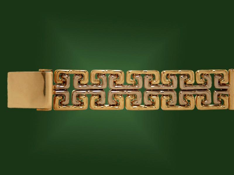 Золотой браслет БР-043
