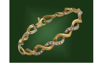 Золотой браслет БР-047