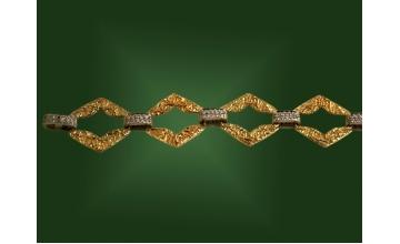 Золотой браслет БР-049