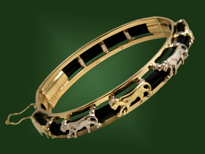 Золотой браслет БР-050
