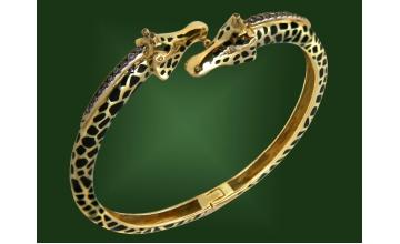 Золотой браслет БР-055