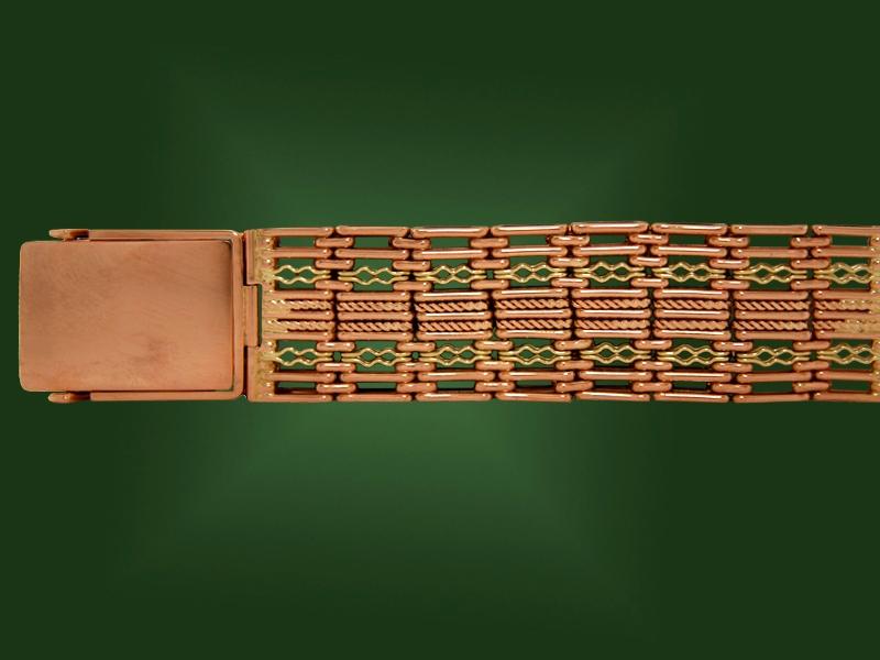 Золотой браслет БР-058