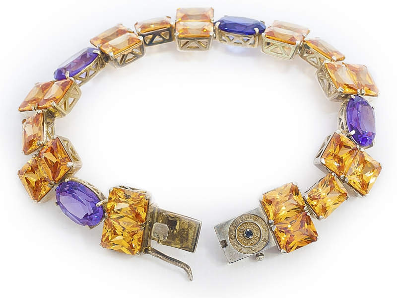 Золотой браслет БР-180