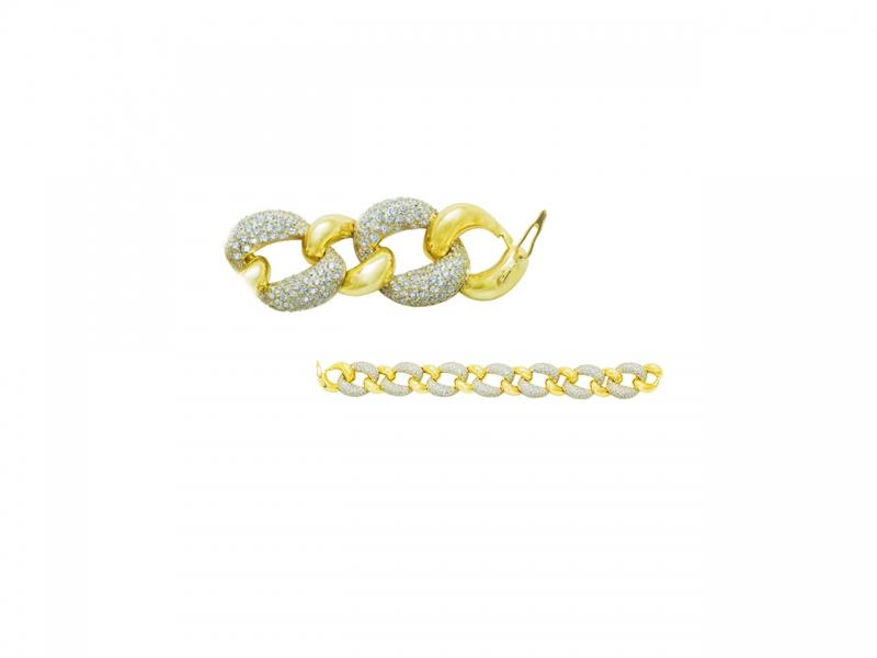 Золотой браслет БР-237