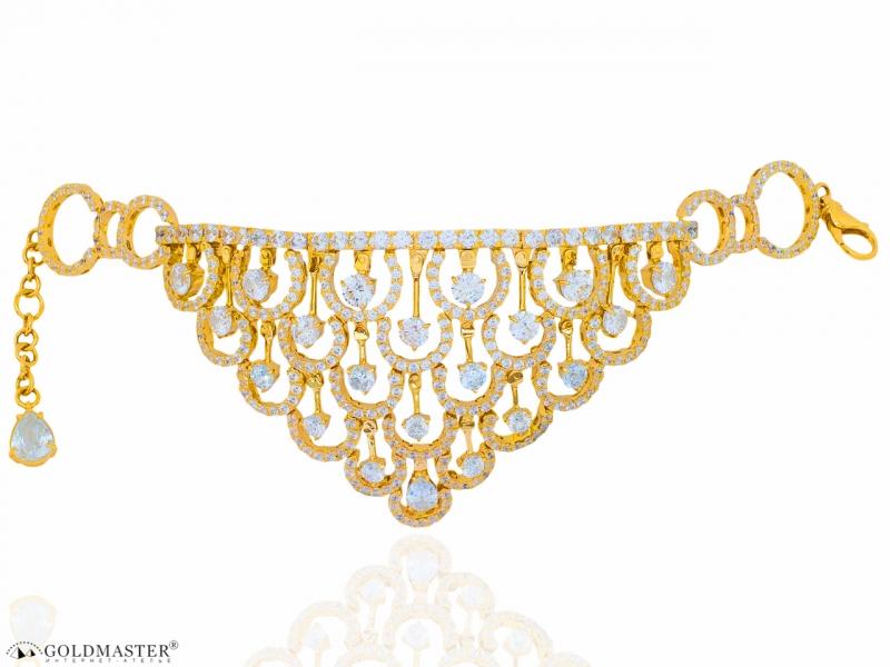Золотой браслет Бр-335