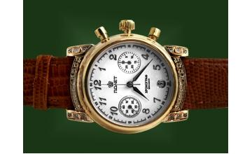 Золотые часы Э-009